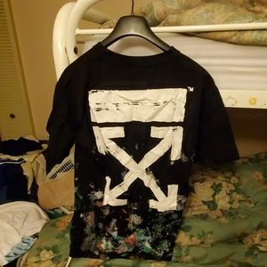 Off-White Shirts - Off-white galaxy tee